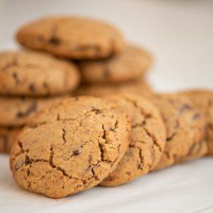 Μπισκότα με Σοκολάτα και Φυστικοβούτυρο