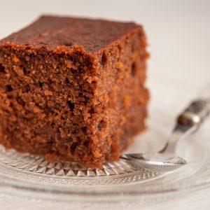 Chocolate Semolina Cake